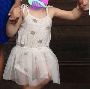 Girl's Bodysuit with Tutu